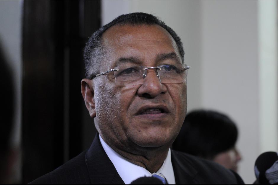 También el expresidente del Congreso, Arístides Crespo Villegas, tiene un antejuicio en su contra. (Foto: Archivo/Soy502)