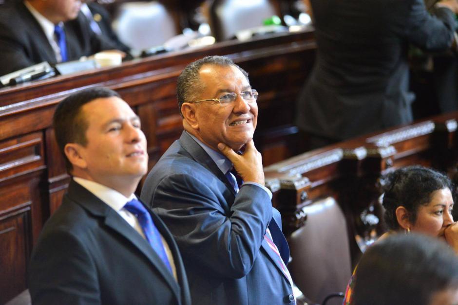 La CICIG solicitó información acerca de las contrataciones efectuadas por 6 expresidentes del Congreso, entre ellos Arístides Crespo. (Foto: Jesús Alfonso/Soy502)