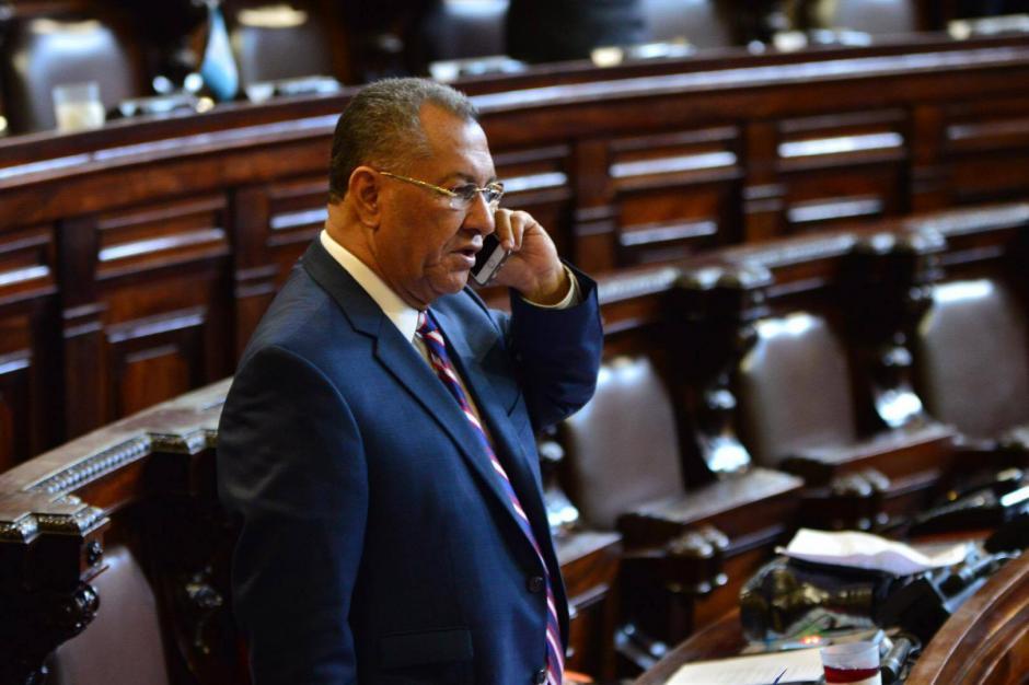 Arístides Crespo ha ocupado la presidencia del Congreso en 2 ocasiones. (Foto: Jesús Alfonso/Soy502)
