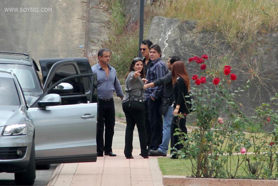 Agentes de seguridad privada cuidaron la privacidad del cantautor en todo momento. (Foto: Luis Barrios/Soy502)