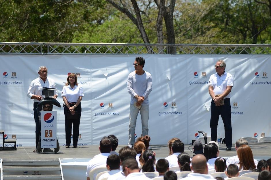 Fundación Adentro y Pepsi se unen a esta labor. (Foto: Selene Mejía/Soy502)