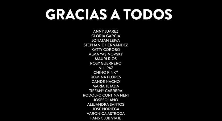 Ricardo Arjona agradeció las muestras de cariño, (Foto: YouTube)