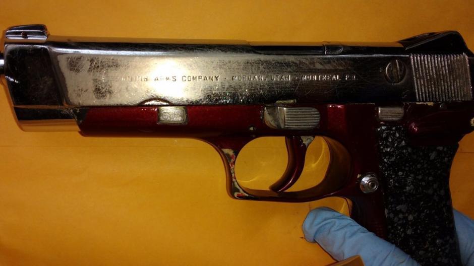 El arma podría haber sido utilizada en hechos delictivos. (Foto: PNC)