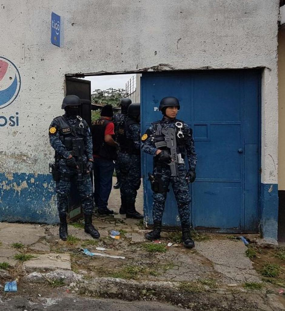 """Se presume que la vivienda era utilizada como guarida de """"El Gruñón"""".  (Foto: PNC)"""