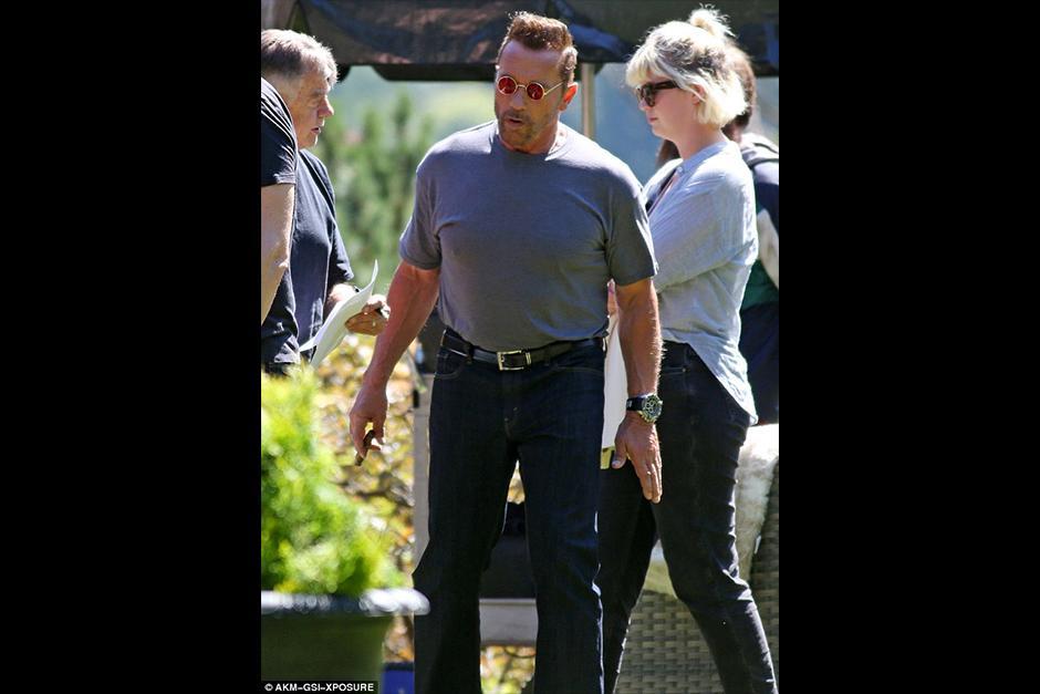 Arnold interpreta a Gunther en la próxima comedia. (Foto: dailymail)