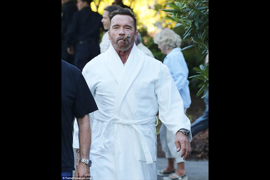 Arnold será el protagonista de ¿Por qué estamos matando a Gunther? (Foto: dailymail)