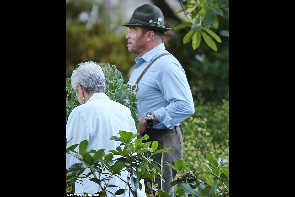 Arnold Schwarzenegger vuelve a las películas. (Foto: dailymail)