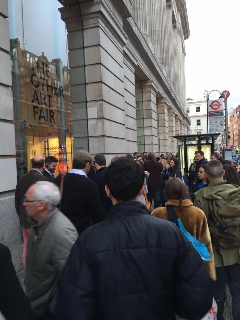 La inauguración estuvo concurrida. (Foto: Mendel Samayoa)