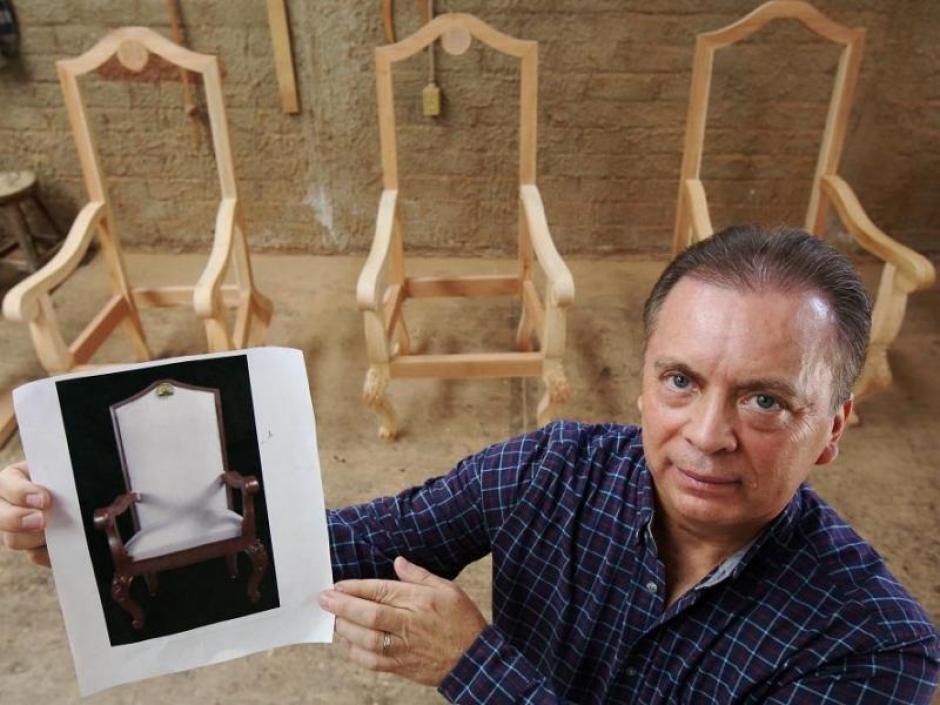 Así quedarán las sillas que utilizará el papa Francisco en México. (Foto: EFE)