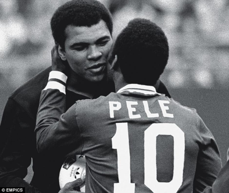 Pelé fue un amigo entrañable de Muhammad Ali Ali. (Foto: Marca)