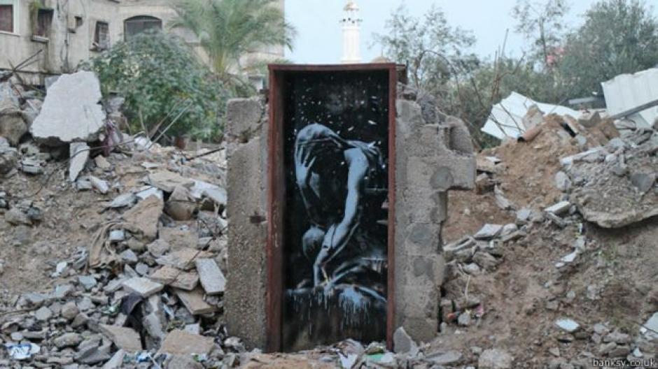 Cada mural tiene una historia. (Foto: AFP)