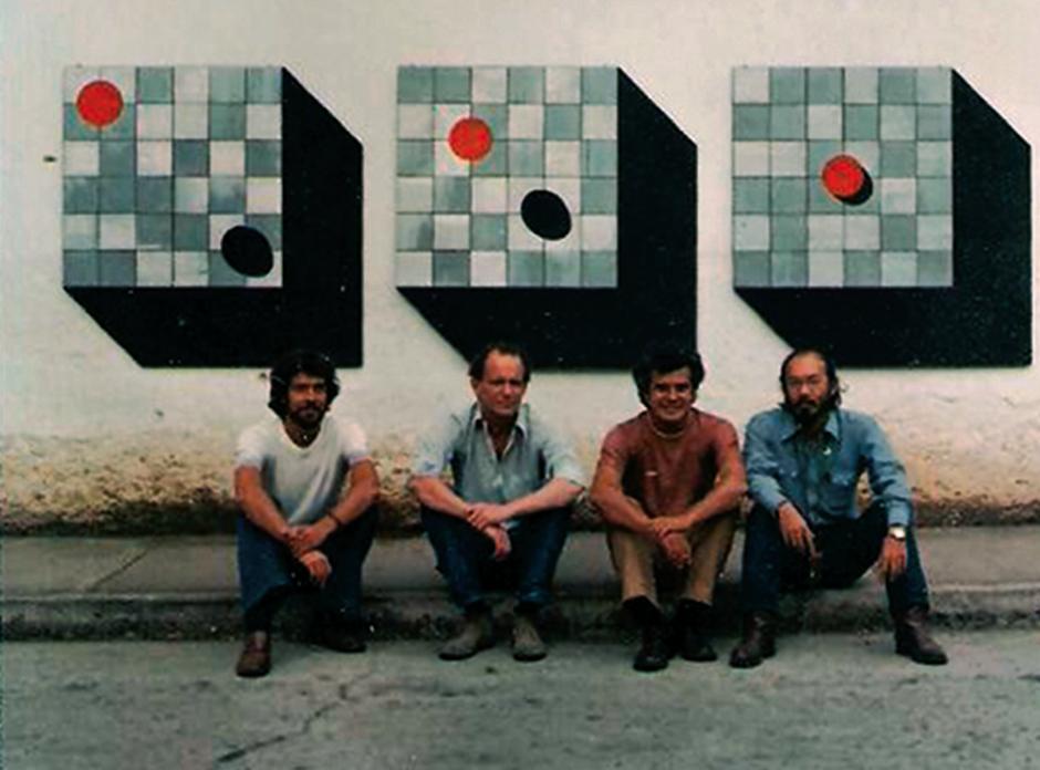 Mario Bendfeldt, Danny Schafer y Alberto Lau. (Foto: Luis Días, exclusivo para Soy502)