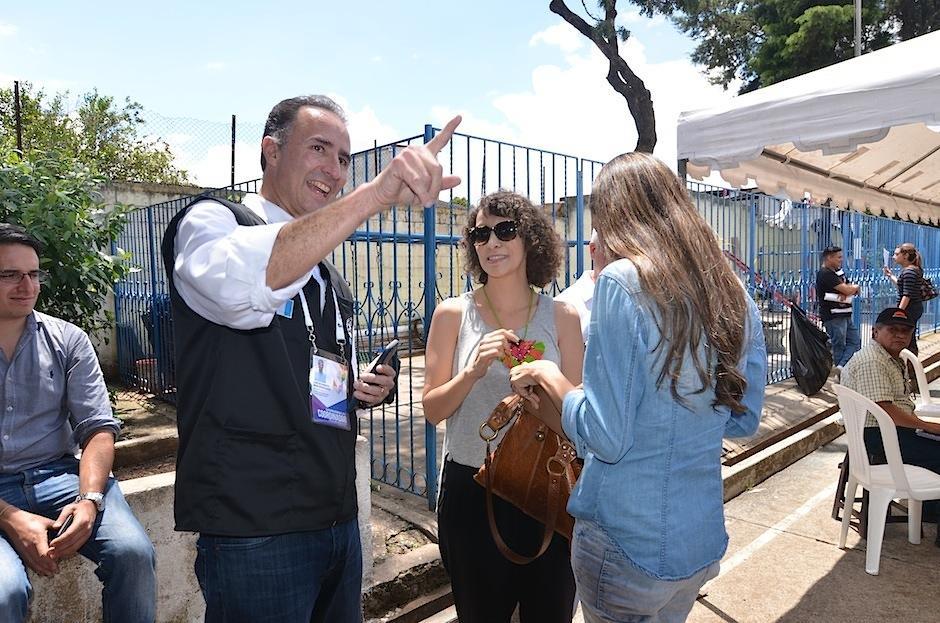 Todos recibieron a Gaby con una sonrisa. (Foto: Selene Mejía/Soy502)