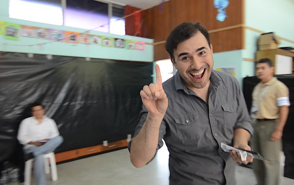 Francisco Paez contagia con su ejemplo. (Foto: Selene Mejía/Soy502)
