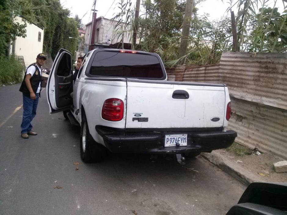 Se les atribuyen varios hechos criminales contra turistas extranjeros.  (Foto: @PNCdeGuatemala)