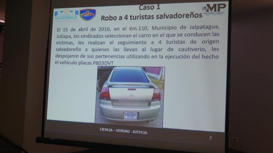 El Ministerio Público presentó la forma en la que operó la supuesta estructura criminal. (Foto: @MPguatemala)