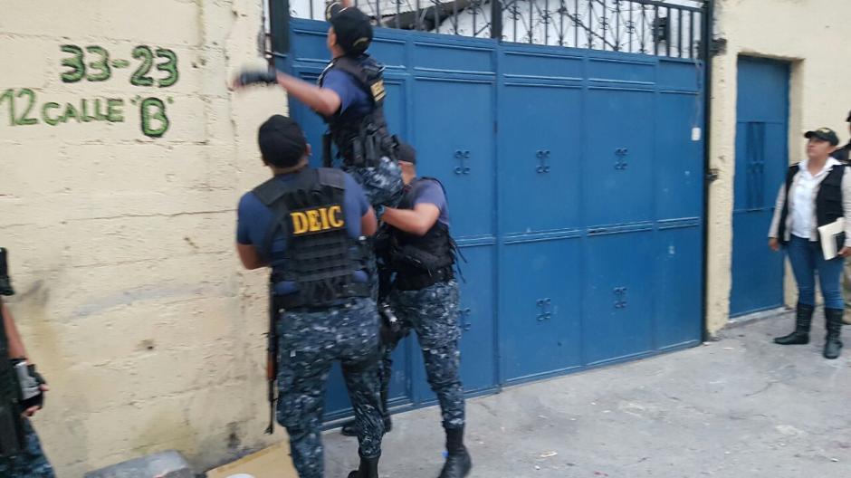 Para la detención de los sindicados fueron necesarios 23 allanamientos.  (Foto: @PNCdeGuatemala)