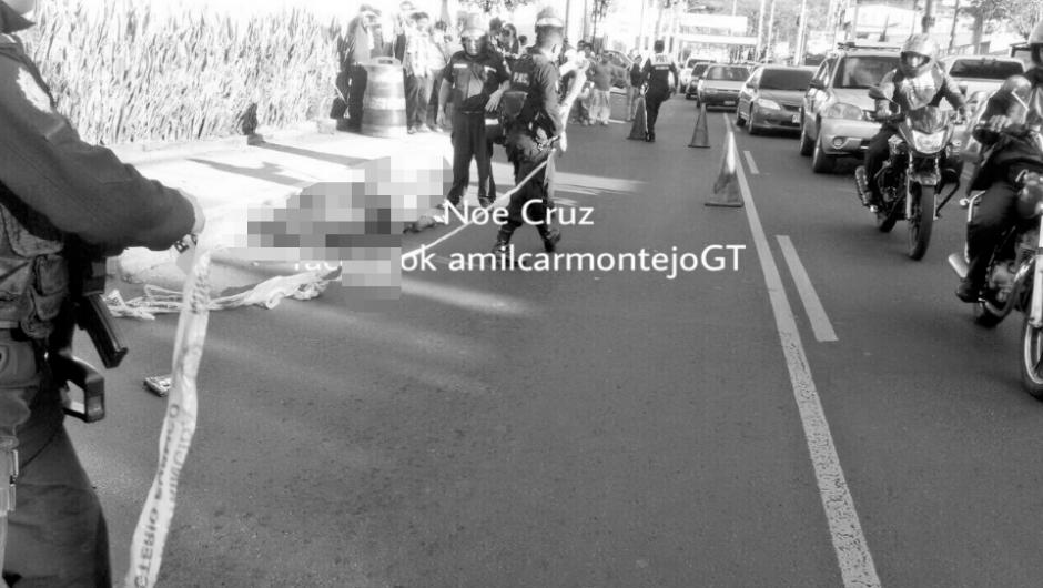 Se presume que uno de los sicarios murió en la persecución policial. (Foto: Amilcar Montejo/PMT)