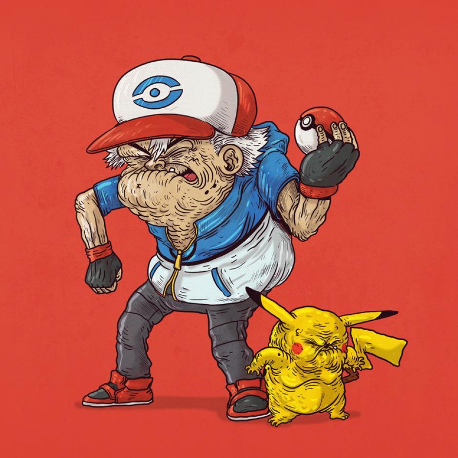 Amigos hasta el final, Ash y Pikachu siempre juntos para las aventuras y una buena pelea. (Foto: Alex Solis)