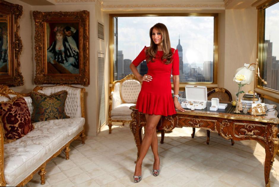 La esposa de Trump se muestra como una exmodelo. (Foto: Melania Trump)