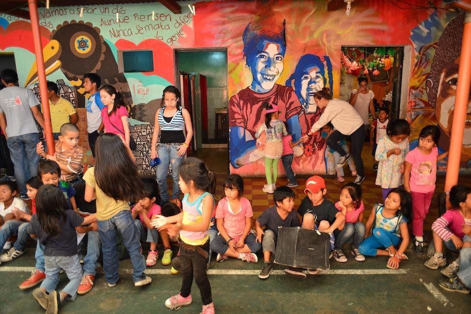 Los niños reciben educación, actividades lúdicas, culturales, presentaciones artísticas y mucho más. (Foto: Jesús Alfonso/Soy502)