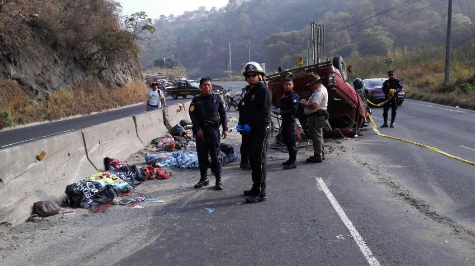 Xiomara Vicente de 22 años, es la víctima mortal del accidente en la ruta al Pacífico. (Foto: Bomberos Voluntarios)
