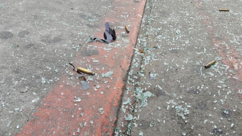 En el lugar murieron dos agentes del Sistema Penitenciario. (Foto: Bomberos Municipales)