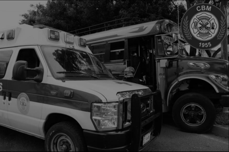 Un piloto falleció en el lugar del ataque y dos trabajadores más de la empresa resultaron heridos. (Foto: Twitter/Bomberos Municipales)