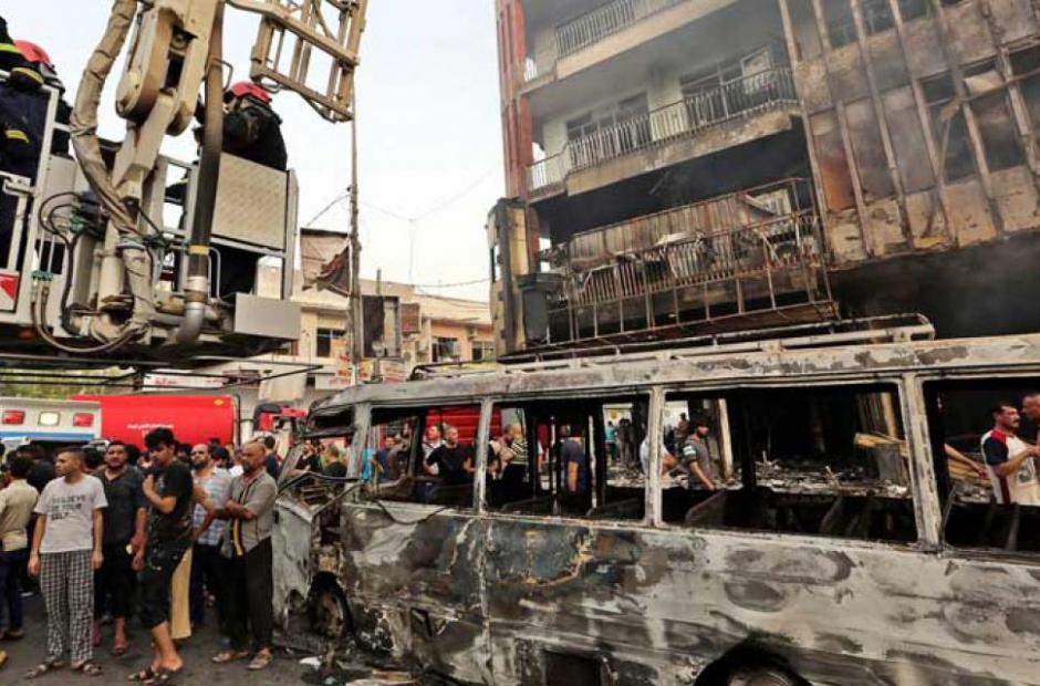 En Karada ha sido registrado el mayor número de víctimas. 308 personas murieron en el atentado. (Foto: El Comercio)