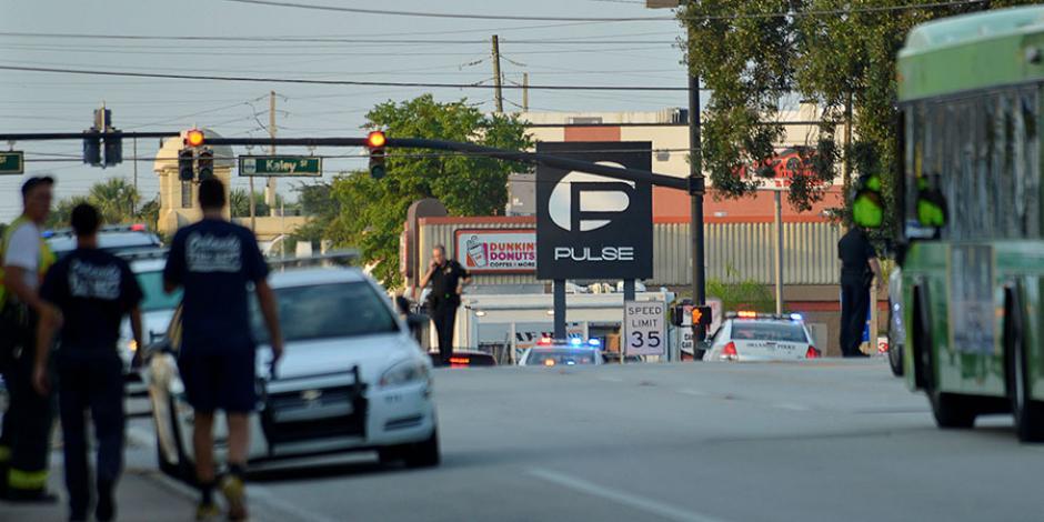 La discoteca Pulse en Orlando, Florida, fue escenario de un atentado el 12 de julio de este año. (Foto: La Tercera)