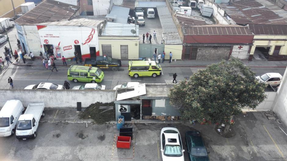 Un ataque dejó cinco personas muertas en la zona 1 capitalina. (Foto: @CRGuatemalteca)