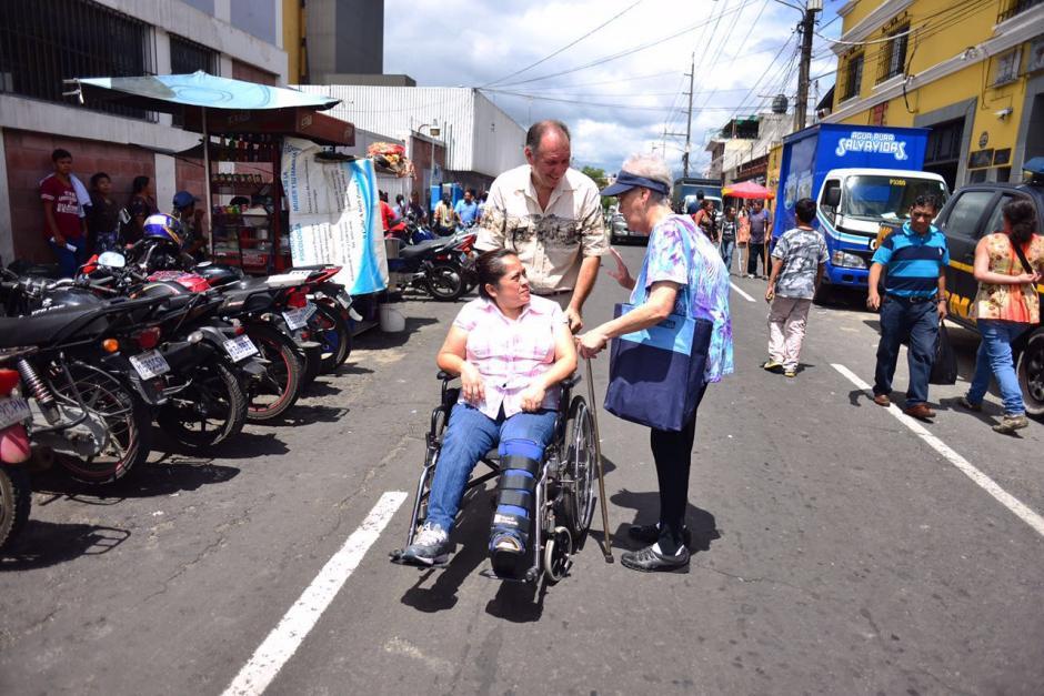 Los pacientes del San Juan de Dios fueron evacuados. (Foto: Jesús Alfonso/Soy502)