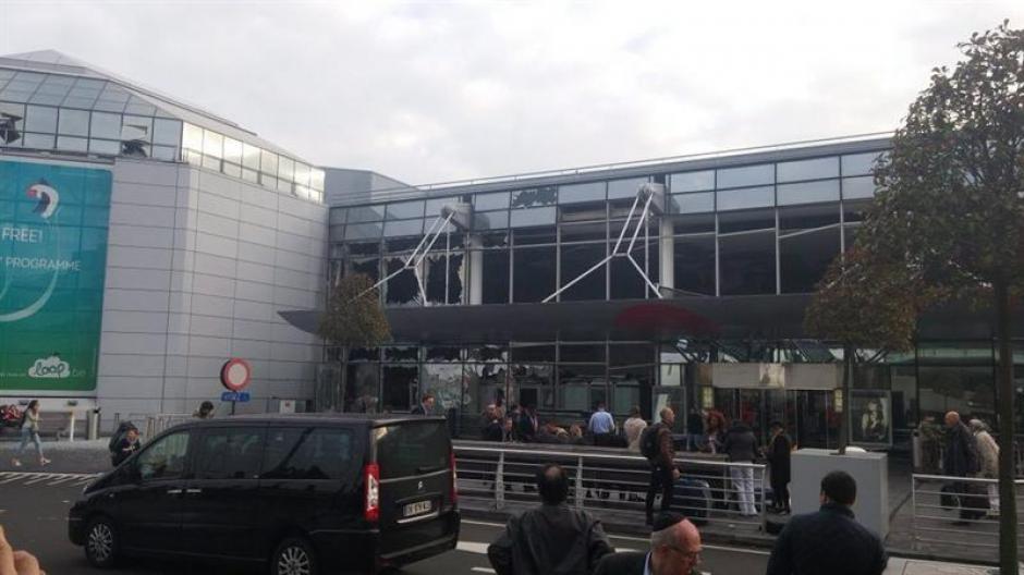 El aeropuerto de Zaventem fue objeto de un ataque suicida. (Foto: EFE)