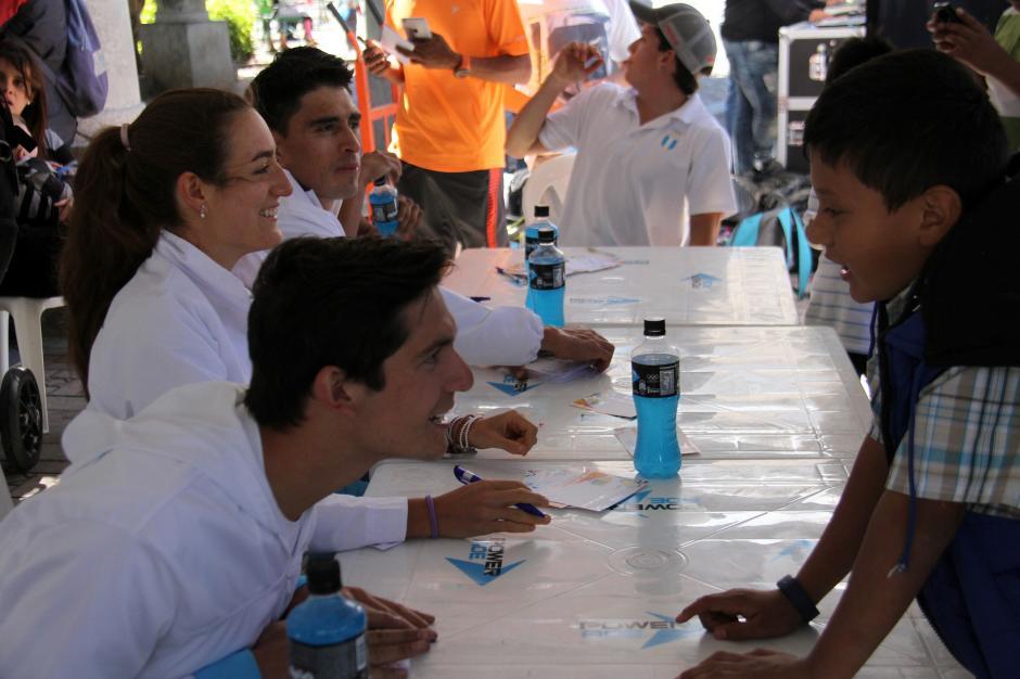 Los pentatletas guatemaltecos Charles Fernández e Isabel Brand, están clasificados a Río 2016. A finales de febrero irán a su primera Copa del Mundo, del año en Egipto. (Foto: Comité Olímpico Guatemalteco)