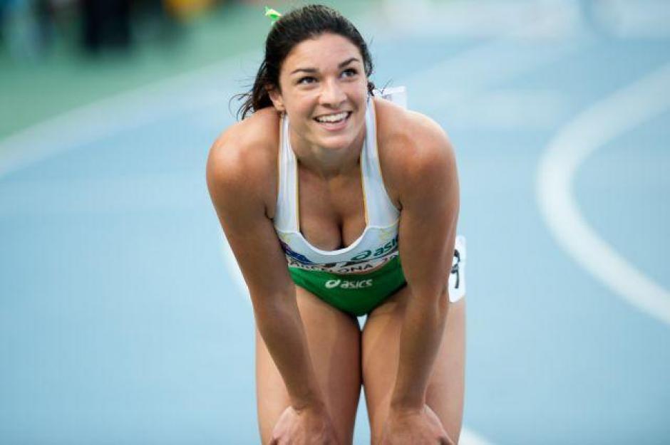 Michelle Jenneke participó en Río en la competencia de 110 metros con vallas. (Foto: atleteshd.com)
