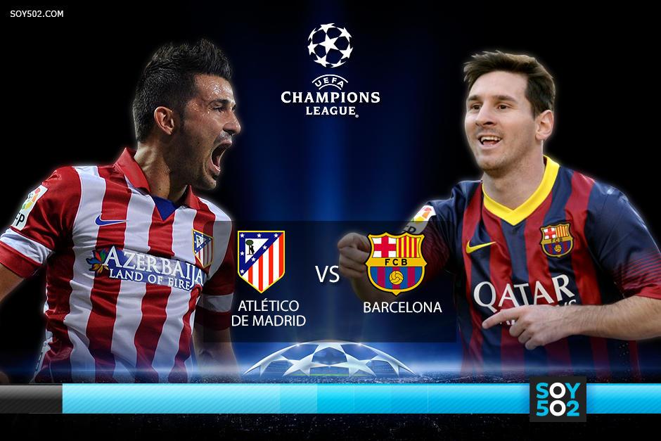 El Barcelona deberá anotarle un gol al Atlético para seguir vivo en la Champions, pues cualquier derrota o incluso un empate a cero clasificarían al Atlético