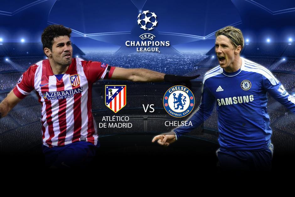 Minuto a minuto de las acciones del juego entre el Atlético de Madrid y el Chelsea