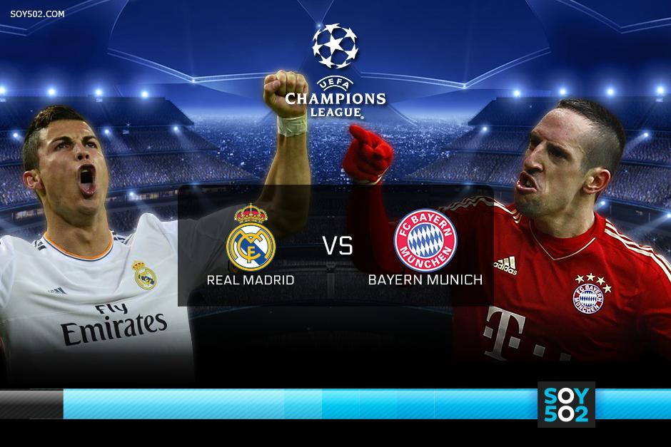 """El Real Madrid recibirá en el Bernabéu a su """"bestia negra"""", el Bayern Munich"""