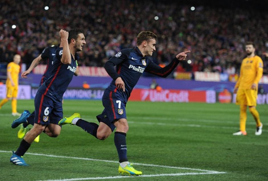 La postal que los aficionados del Atlético de Madrid recordarán por siempre. (Foto: publimetro.com.mx)
