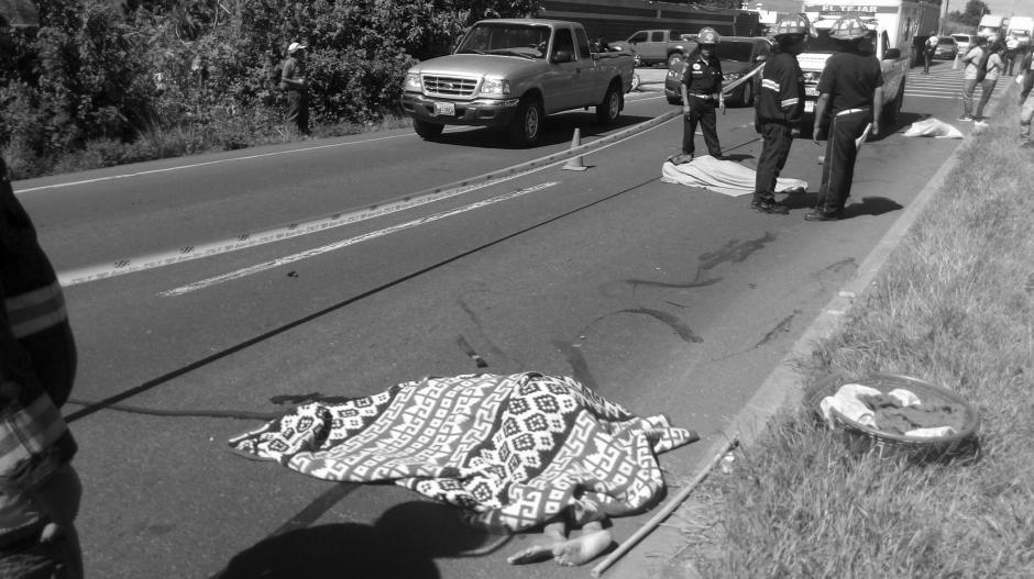 Los fallecidos fueron identificados como José Ceferino Xicón Felipe y María Juana Sula Yuc. (Foto: @CBMDEPTAL)