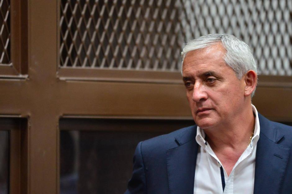 Otto Pérez Molina suma un segundo proceso en su contra. (Foto: Jesús Alfonso/Soy502)