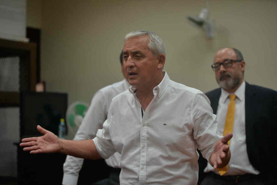 Otto Pérez Molina perderá su producción de aguacate. (Foto: Archivo/Soy502)