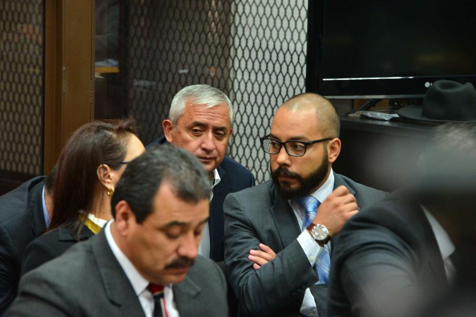 Aparentemente Guerra solo llevaría la defensa de Baldetti en el caso TCQ. (Foto: Jesús Alfonso/Soy502)