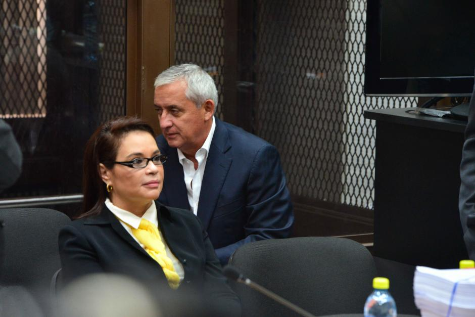 Este es el segundo proceso que enfrentan juntos la expareja presidencia. (Foto: Jesús Alfonso/Soy502)