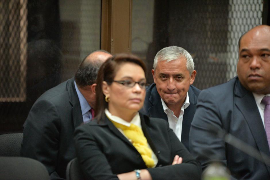 Roxana Baldetti y Otto Pérez están acusados en un tercer proceso penal juntos. (foto: Archivo/Soy502)