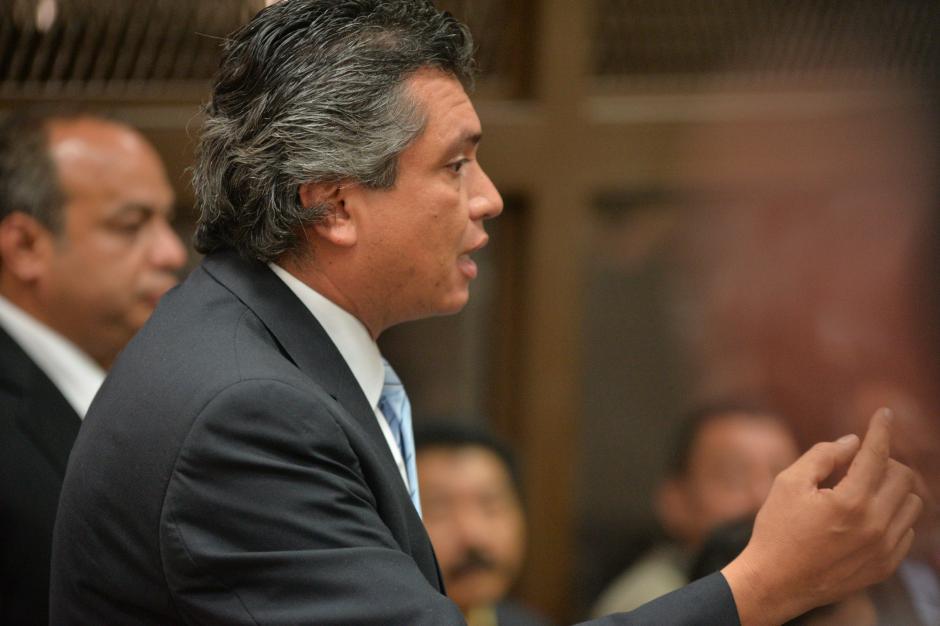 Gustavo Martínez, exsecretario privado y yerno de Otto Pérez Molina. (Foto: Wilder López/Soy502)