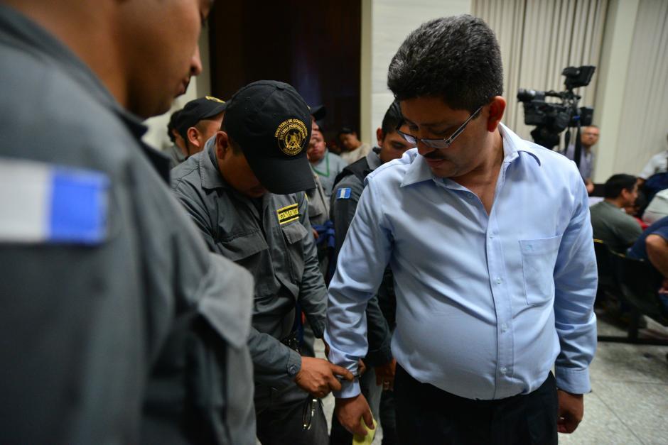 Omar Franco se desempeñaba como jefe de la SAT cuando fue capturado. (Foto: Archivo/Soy502)