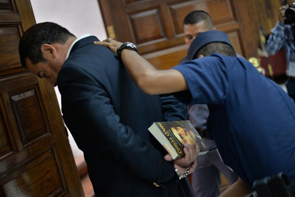 Distintos textos han sido llevados durante los 14 días de audiencia de primera declaración. (Foto: Archivo/Soy502)