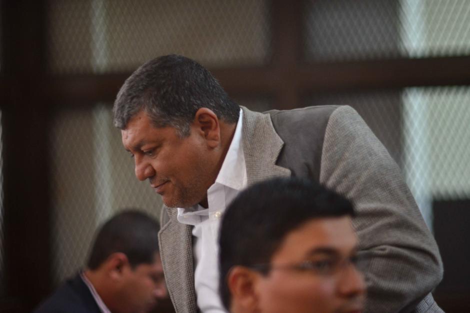 Obdulio Mendoza Matta, presunto líder de la estructura. (Foto: Jesús Alfonso/Soy502)