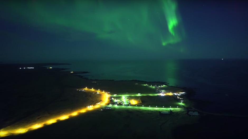El video permite ver espectaculares imágenes del fenómeno. (Imagen: captura de YouTube)